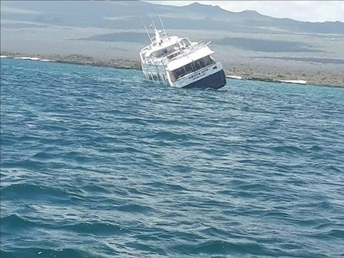 News : Luxury ship Majestic Explorer Runs Aground – and Sinks